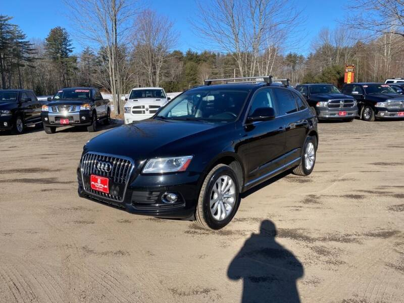 2015 Audi Q5 for sale at AutoMile Motors in Saco ME