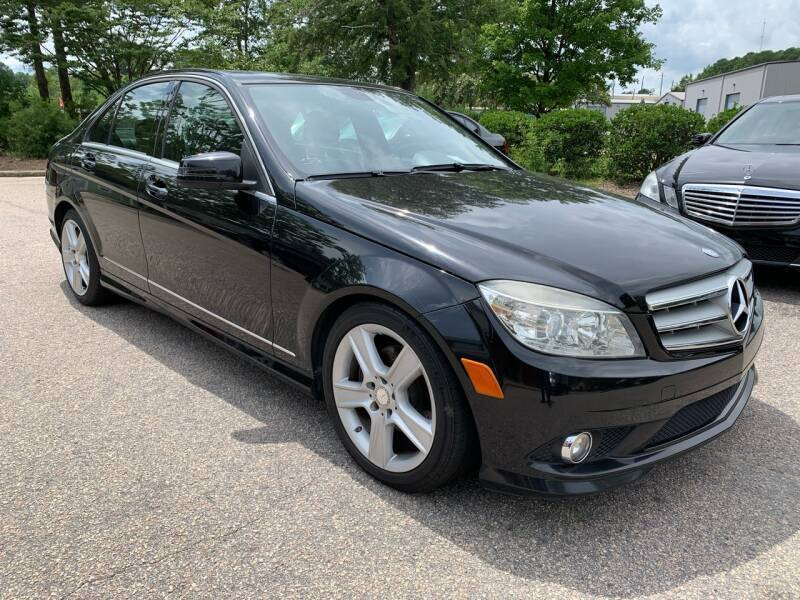 2010 Mercedes-Benz C-Class for sale at Triangle Motors Inc in Raleigh NC