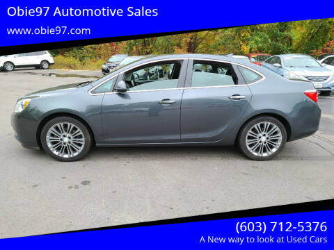 2013 Buick Verano for sale at Obie97 Automotive Sales in Londonderry NH