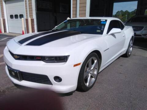 2015 Chevrolet Camaro for sale at Smart Chevrolet in Madison NC