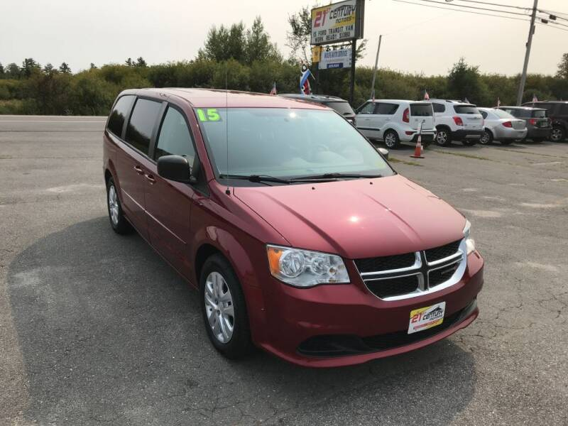 2015 Dodge Grand Caravan for sale at 21ST CENTURY MOTORS in Gorham ME