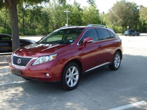 2010 Lexus RX 350 for sale at ACH AutoHaus in Dallas TX