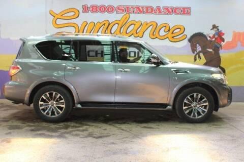 2018 Nissan Armada for sale at Sundance Chevrolet in Grand Ledge MI