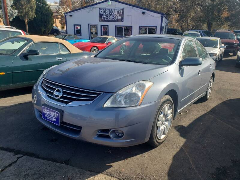 2011 Nissan Altima for sale at Cross Country Motors in Loveland CO