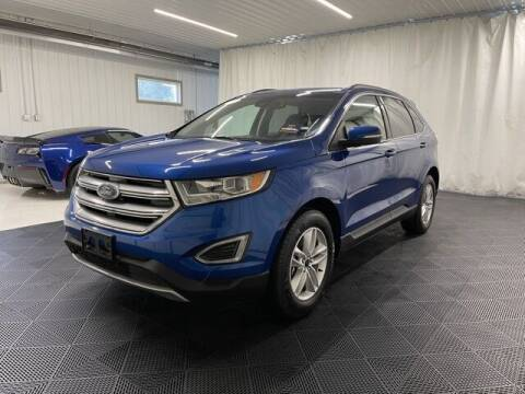 2018 Ford Edge for sale at Monster Motors in Michigan Center MI
