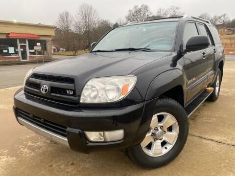 2003 Toyota 4Runner for sale at Gwinnett Luxury Motors in Buford GA
