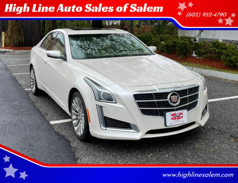 2014 Cadillac CTS for sale at High Line Auto Sales of Salem in Salem NH