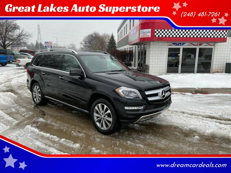 2014 Mercedes-Benz GL-Class for sale at Great Lakes Auto Superstore in Pontiac MI