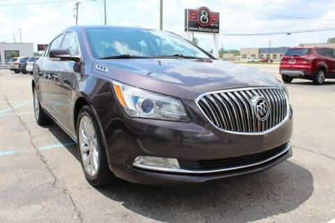 2014 Buick LaCrosse for sale at B & B Car Co Inc. in Clinton Township MI