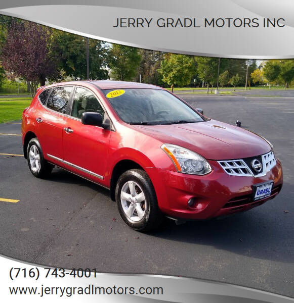 2012 Nissan Rogue for sale at JERRY GRADL MOTORS INC in North Tonawanda NY