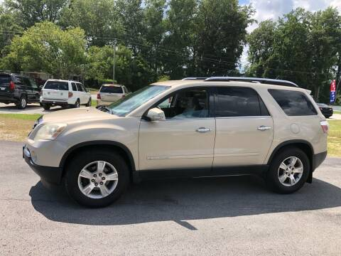 2008 GMC Acadia for sale at IH Auto Sales in Jacksonville NC