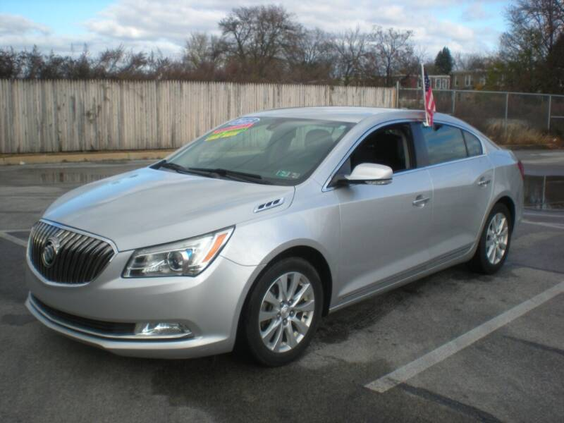 2015 Buick LaCrosse for sale at 611 CAR CONNECTION in Hatboro PA