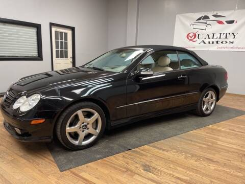 2005 Mercedes-Benz CLK for sale at Quality Autos in Marietta GA