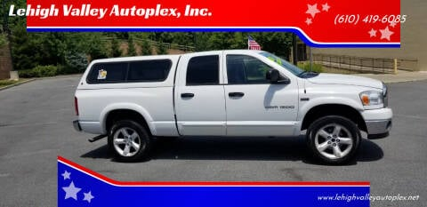 2006 Dodge Ram Pickup 1500 for sale at Lehigh Valley Autoplex, Inc. in Bethlehem PA