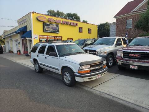 2000 Chevrolet Blazer for sale at Bel Air Auto Sales in Milford CT