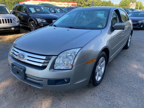 2008 Ford Fusion for sale at Atlantic Auto Sales in Garner NC