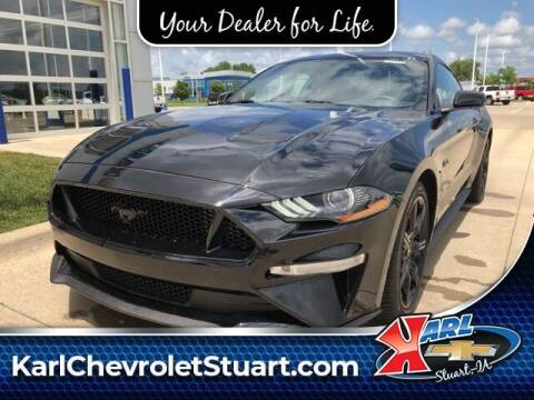2019 Ford Mustang for sale at Karl Pre-Owned in Glidden IA