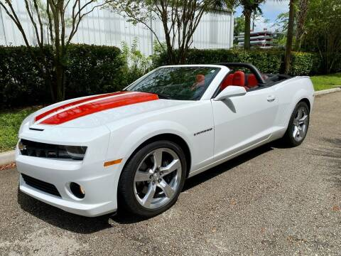 2011 Chevrolet Camaro for sale at DENMARK AUTO BROKERS in Riviera Beach FL
