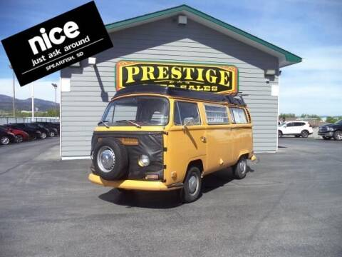 1971 Volkswagen Transporte for sale at PRESTIGE AUTO SALES in Spearfish SD