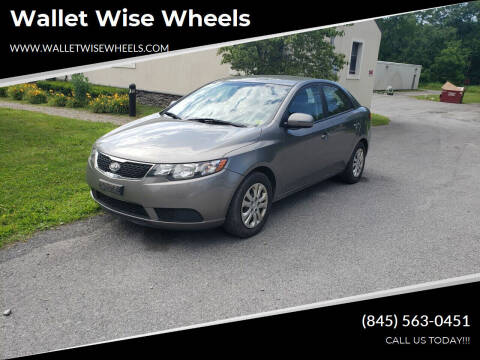 2012 Kia Forte for sale at Wallet Wise Wheels in Montgomery NY