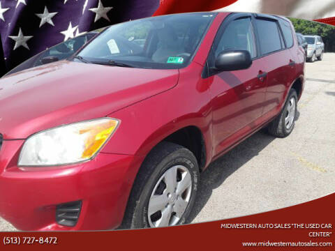 "2009 Toyota RAV4 for sale at MIDWESTERN AUTO SALES        ""The Used Car Center"" in Middletown OH"