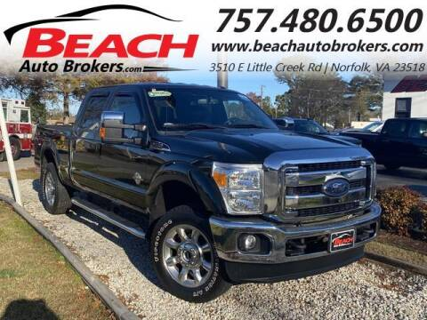 2012 Ford F-250 Super Duty for sale at Beach Auto Brokers in Norfolk VA