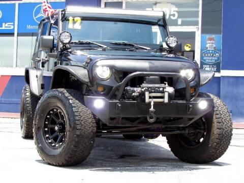 2012 Jeep Wrangler Unlimited for sale at Orlando Auto Connect in Orlando FL
