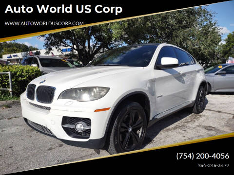 2009 BMW X6 for sale at Auto World US Corp in Plantation FL