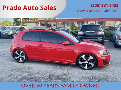 2015 Volkswagen Golf GTI for sale at Prado Auto Sales in Miami FL