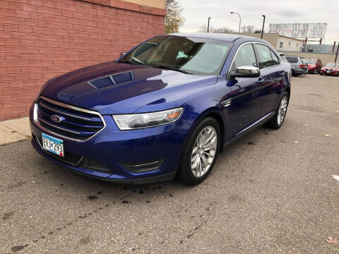 2015 Ford Taurus for sale at Nice Cars Auto Inc in Minneapolis MN