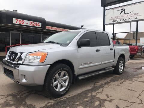 2014 Nissan Titan for sale at NORRIS AUTO SALES in Oklahoma City OK