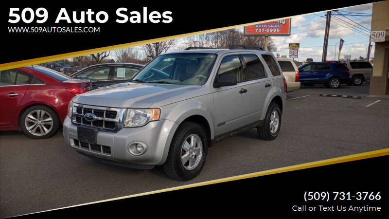 2008 Ford Escape for sale at 509 Auto Sales in Kennewick WA