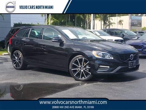2018 Volvo V60 for sale at Volvo Cars North Miami in Miami FL