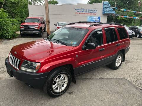 2004 Jeep Grand Cherokee for sale at Compact Cars of Pittsburgh in Pittsburgh PA