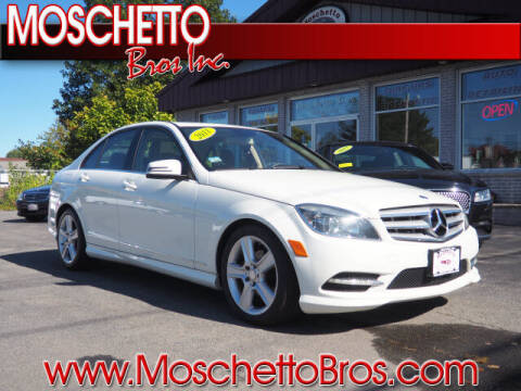 2011 Mercedes-Benz C-Class for sale at Moschetto Bros. Inc in Methuen MA