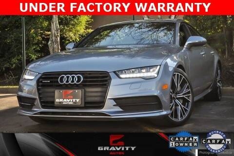 2017 Audi A7 for sale at Gravity Autos Atlanta in Atlanta GA