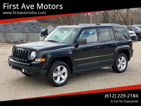 2015 Jeep Patriot for sale at First Ave Motors in Shakopee MN