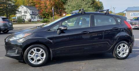2014 Ford Fiesta for sale at Healey Auto in Rochester NH