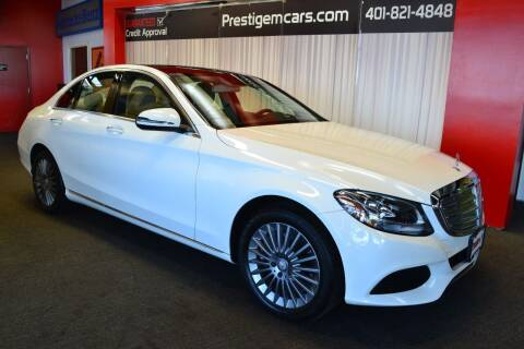 2016 Mercedes-Benz C-Class for sale at Prestige Motorcars in Warwick RI