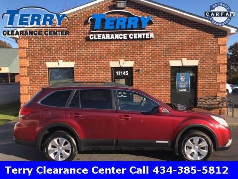 2012 Subaru Outback for sale at Terry Clearance Center in Lynchburg VA