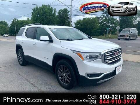 2018 GMC Acadia for sale at Phinney's Automotive Center in Clayton NY