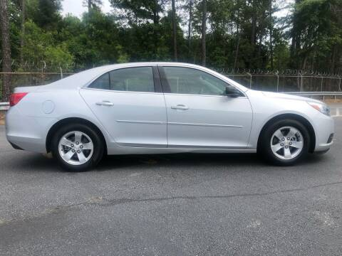 2015 Chevrolet Malibu for sale at WIGGLES AUTO SALES INC in Mableton GA