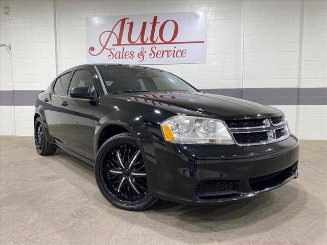 2012 Dodge Avenger for sale at Auto Sales & Service Wholesale in Indianapolis IN