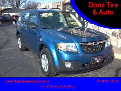 2009 Mazda Tribute for sale at Dons Tire & Auto in Butler WI