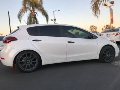 2015 Kia Forte5 for sale at CARSTER in Huntington Beach CA