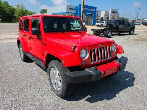 2016 Jeep Wrangler Unlimited for sale at LeMond's Chevrolet Chrysler in Fairfield IL