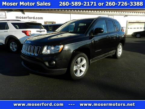 2011 Jeep Compass for sale at Moser Motors Of Portland in Portland IN