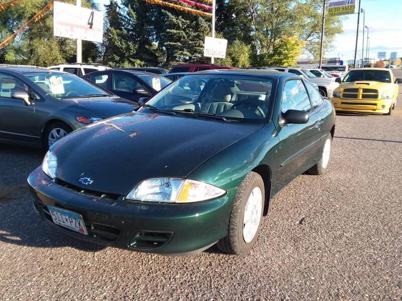 2002 Chevrolet Cavalier for sale at Affordable 4 All Auto Sales in Elk River MN