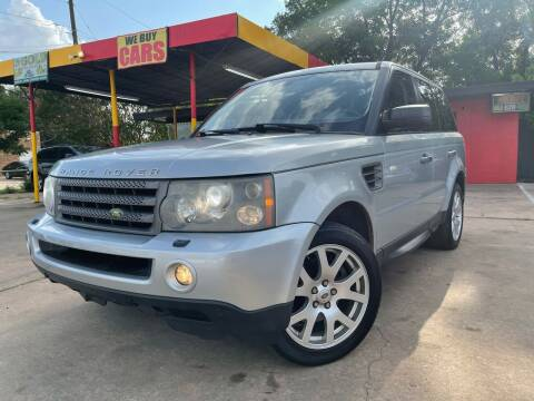 2009 Land Rover Range Rover Sport for sale at Cash Car Outlet in Mckinney TX