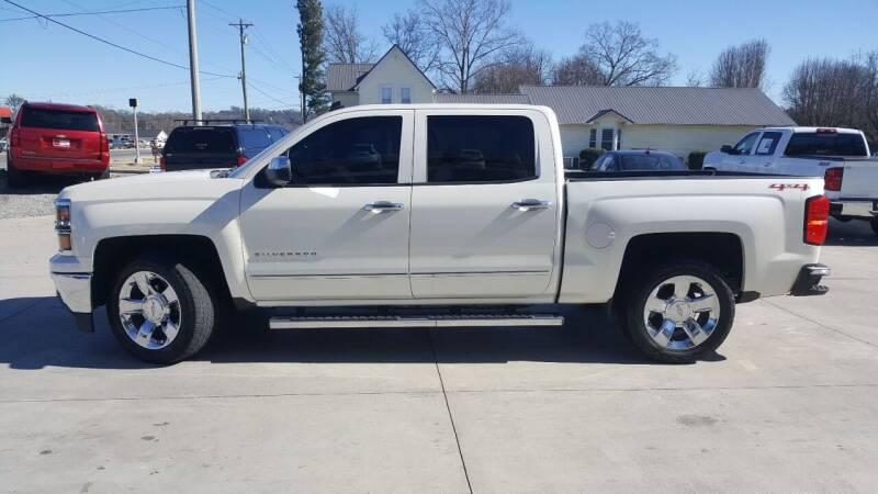 2014 Chevrolet Silverado 1500 for sale at Crossroads Auto Sales LLC in Rossville GA